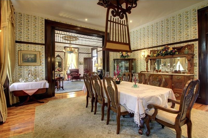 The Stark Mansion Dining Room