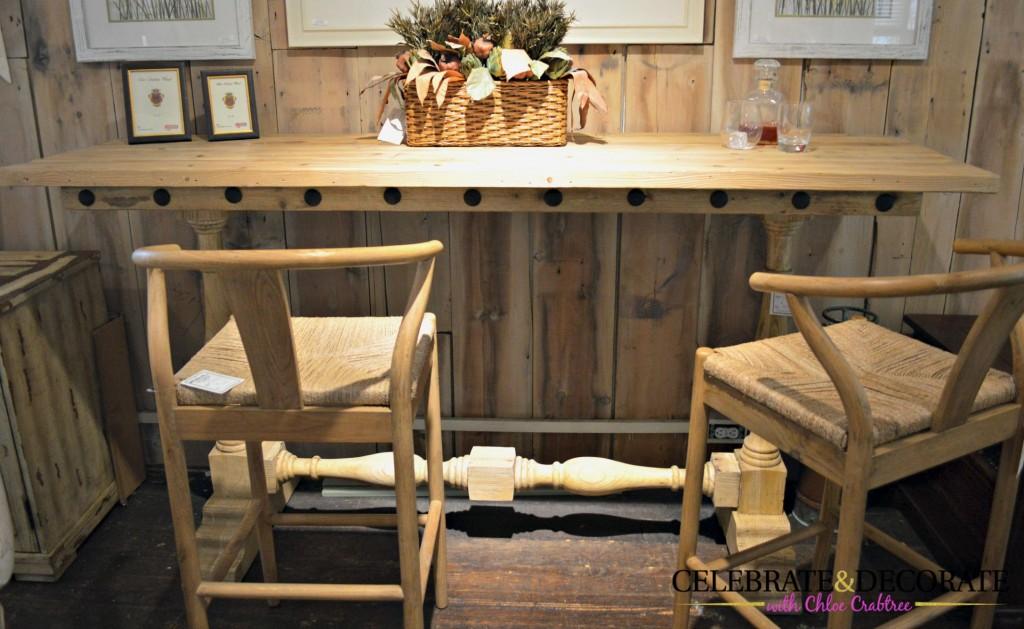 Bar and stools at Hildreth's