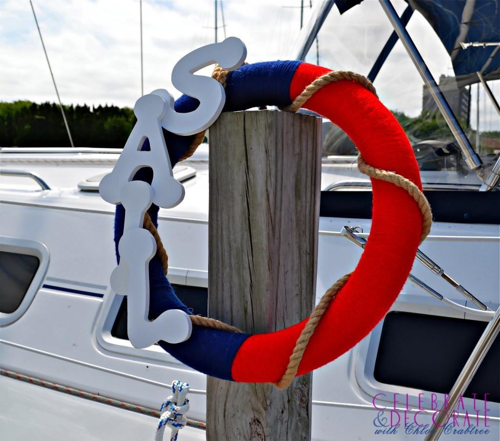 DIY Sail Wreath