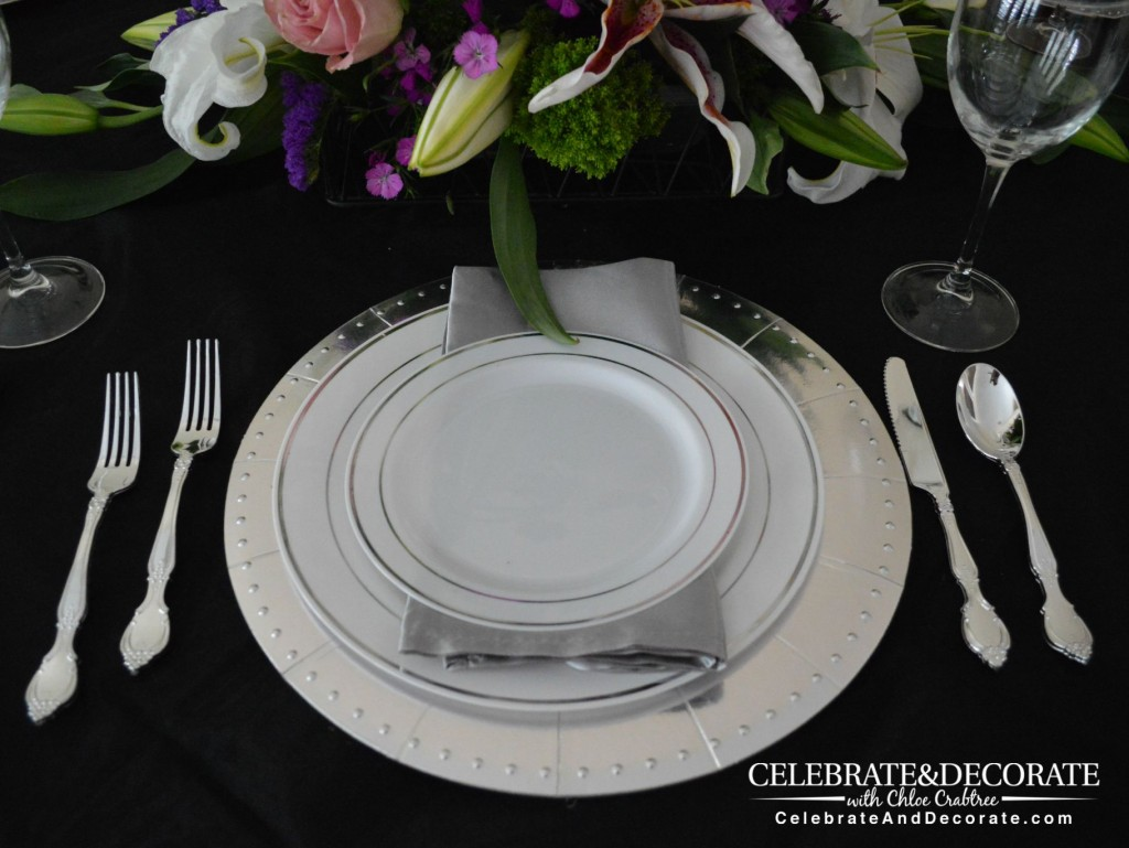 Elegant Tablescape by Smarty Had A Party