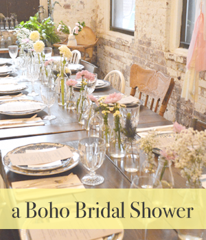 A Boho Bridal Shower