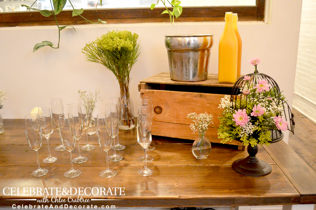 boho-bridal-shower-mimosa-bellini-bar