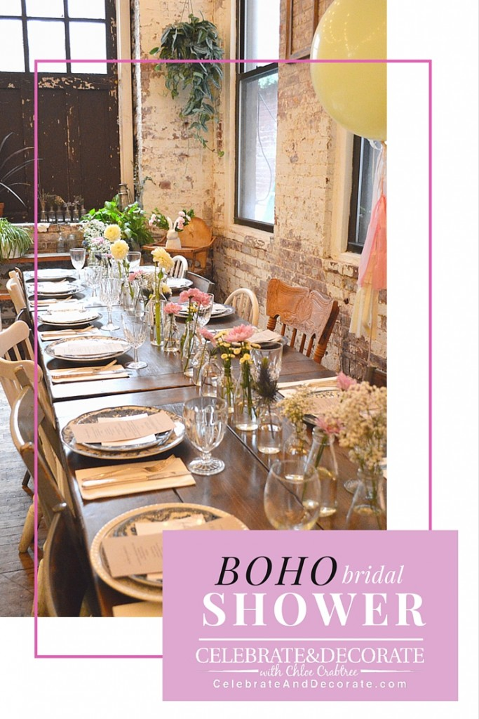 A Boho Bridal Shower In New York City Celebrate Amp Decorate