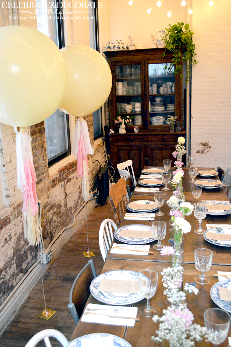 A Boho Bridal Shower In New York City Celebrate Decorate