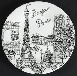 Bonjour Paris Dishes