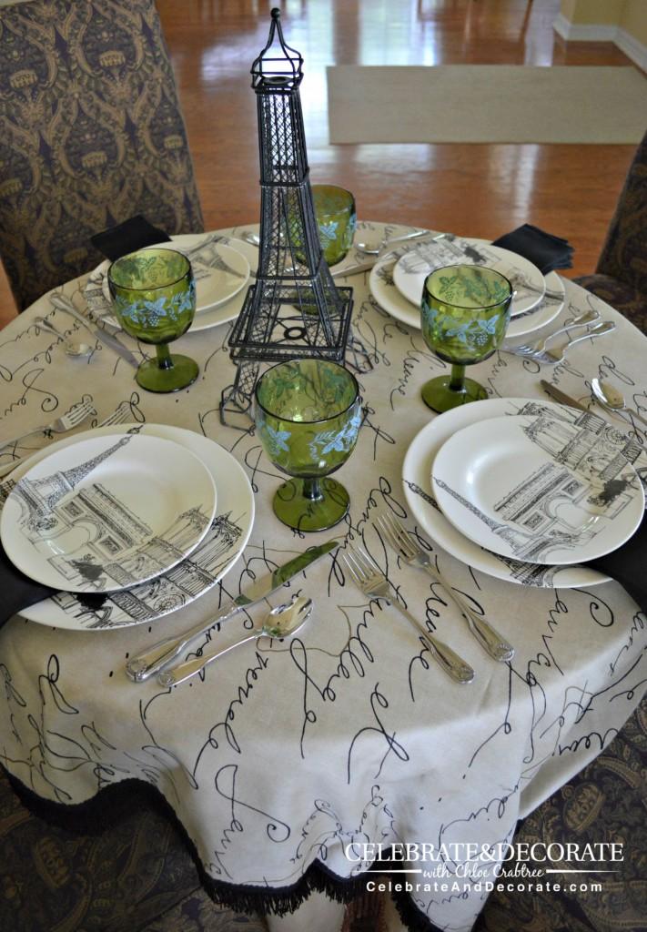 Paris Tablescape