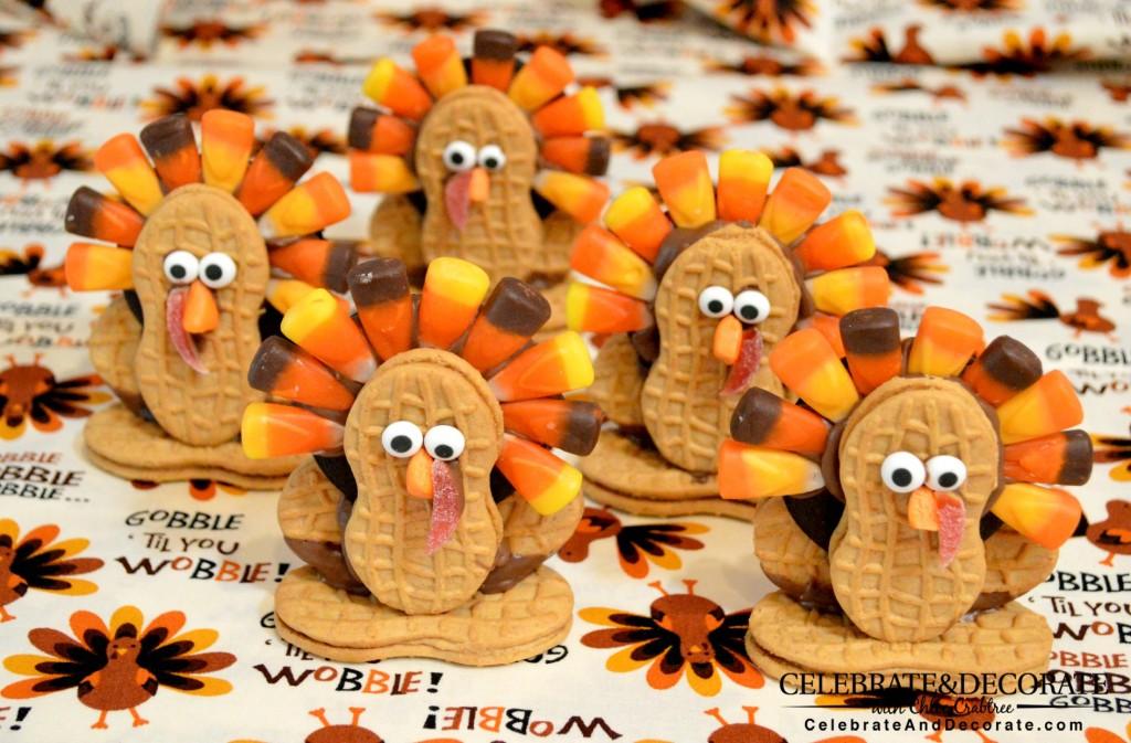 A Flock of Nutter Butter Cookies