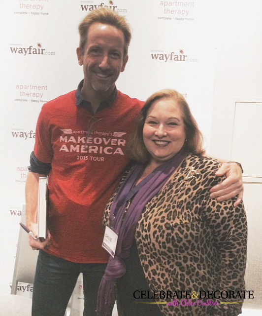 Maxwell Ryan and I at Wayfair Heart Home Conference