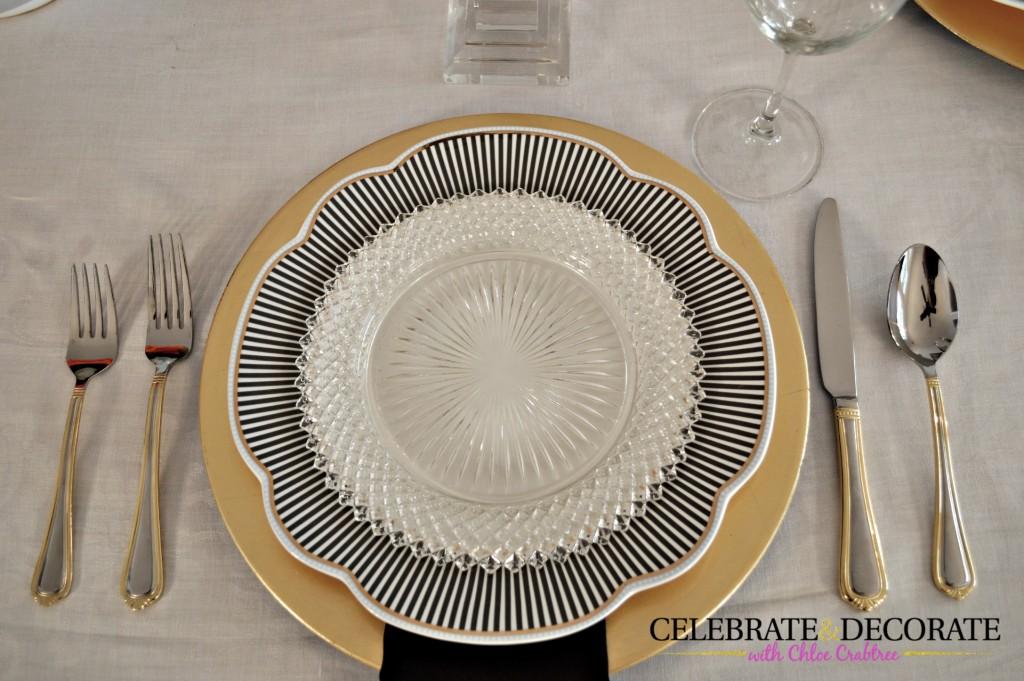 Miss America salad plate