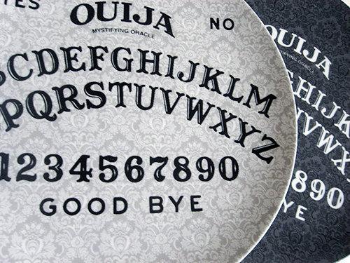 Ouija Board Plates