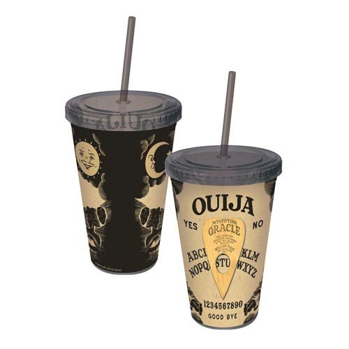 Ouija Board Straw Cups