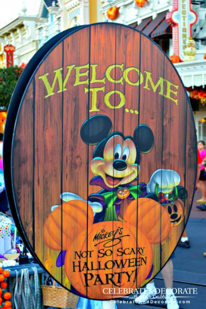 Walt Disney World's Mickey's Not So Scary Halloween Party