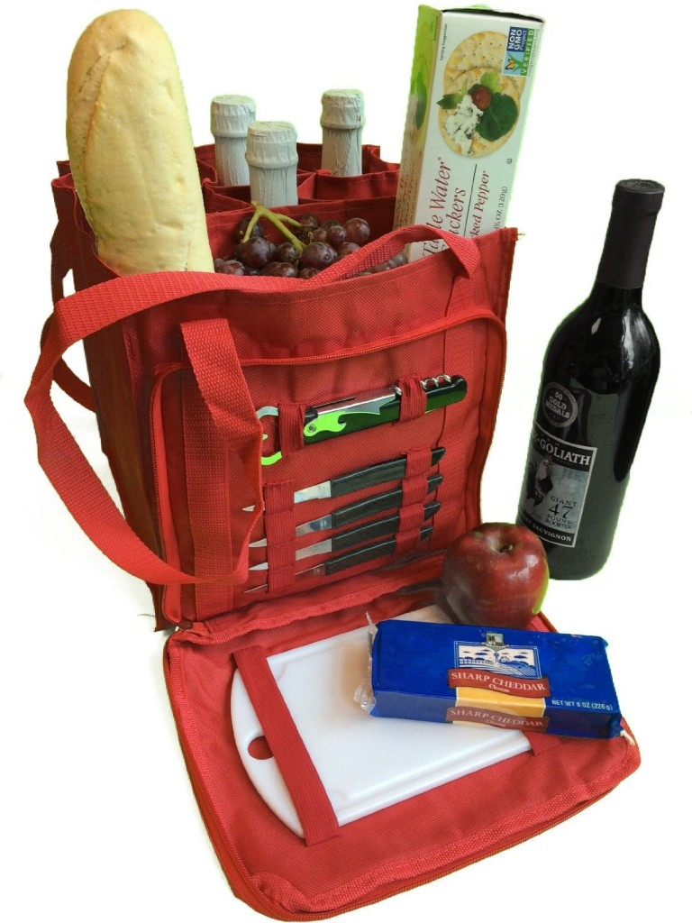 Hostess Gift - Wine & Cheese Tote