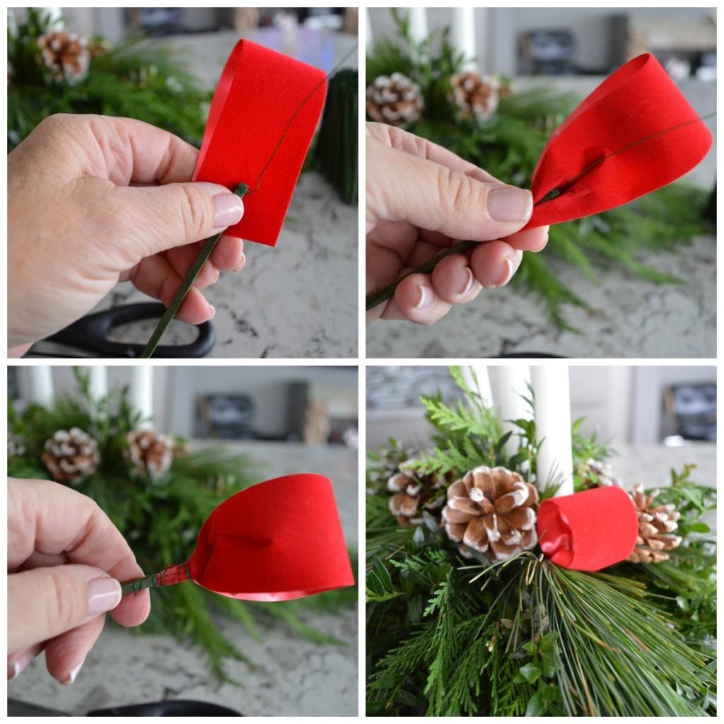 How to make ribbon loops