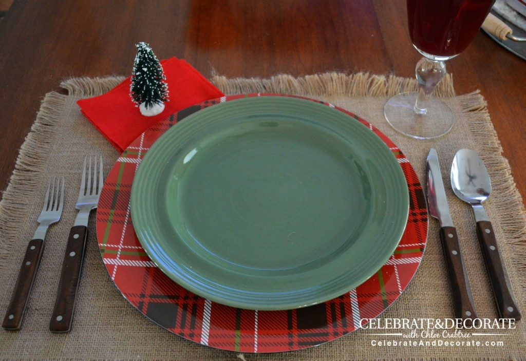 Rustic Christmas Tablescape 2