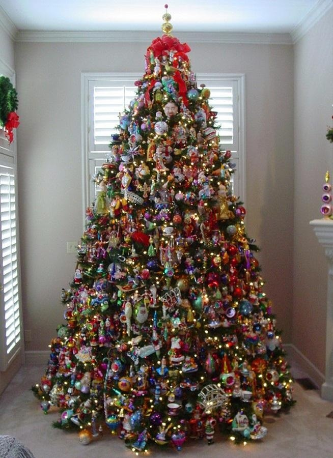 make your decorated christmas tree mathematically perfectw654 - Pictures Of Decorated Christmas Trees