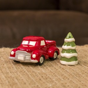 vintage car & christmas tree decor shop - celebrate & decorate