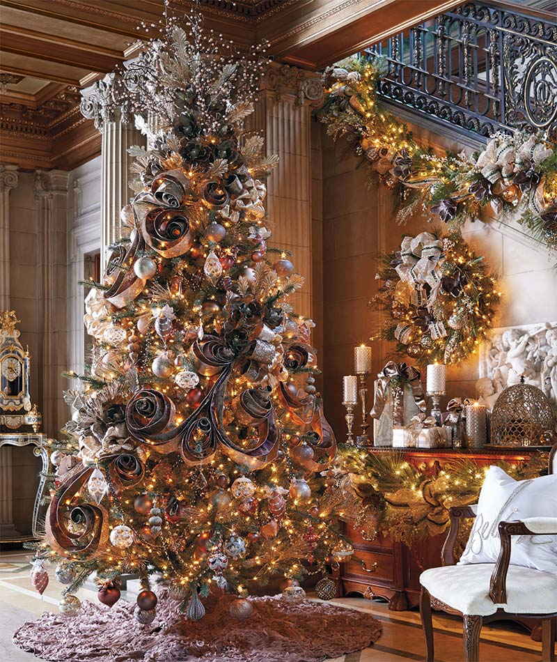 15 Non Traditional Christmas Tree Ideas: Beautiful Christmas Trees And A Link Party