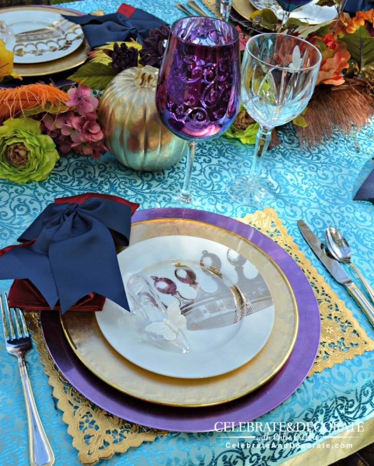 A royal celebration! Cinderella inspired tablescape.