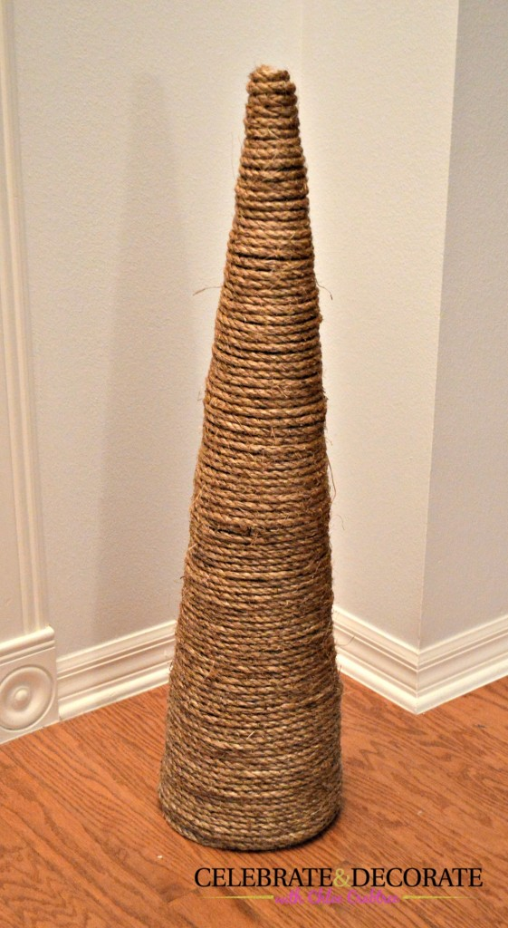 Coastal Christmas Tree repurpose
