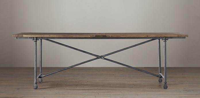 Flatiron table from Restoration Hardware