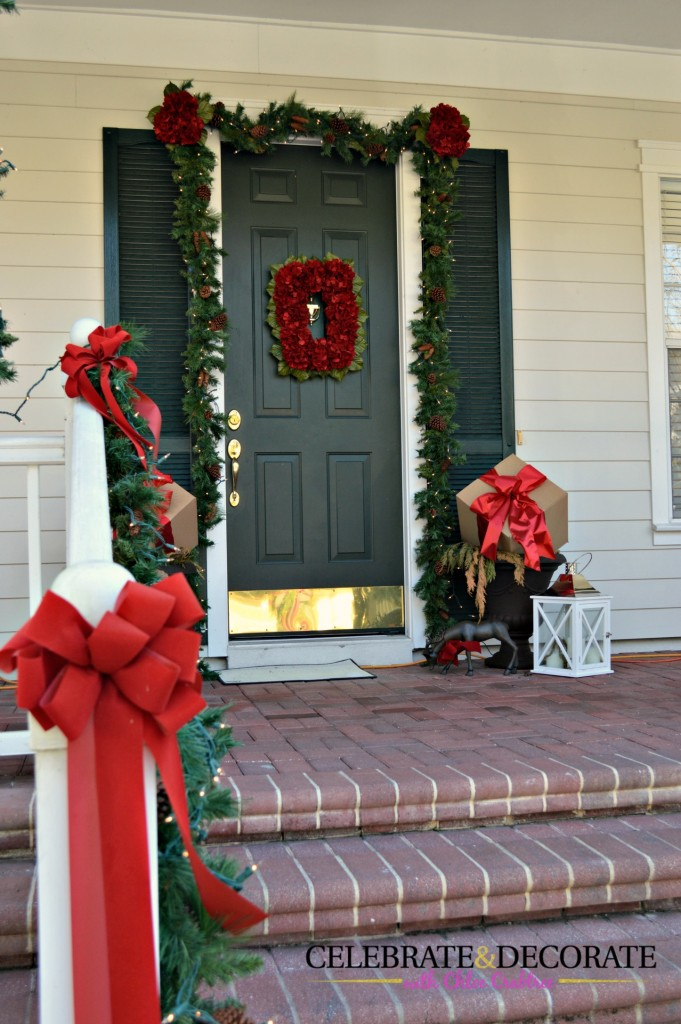 Merry Christmas Front Porch