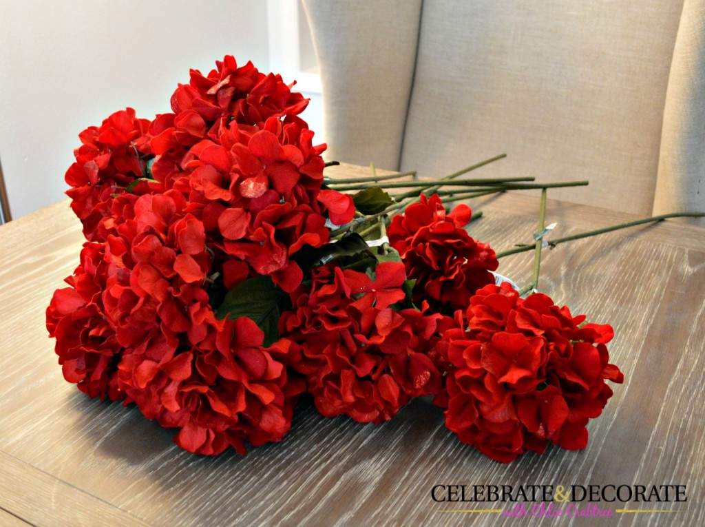 Red Hydrangeas