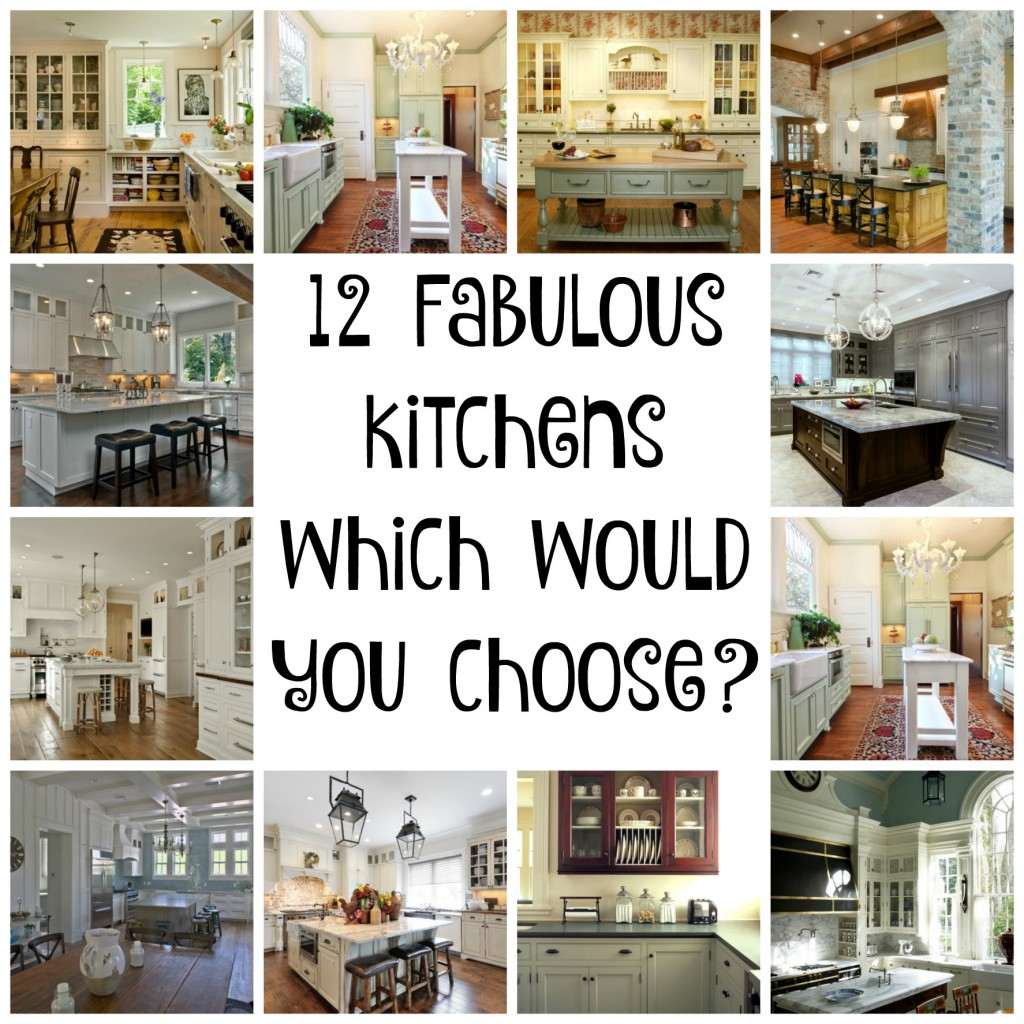12 Kitchens Collage