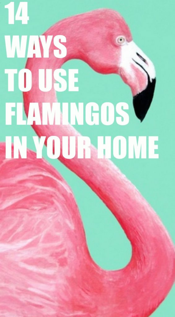 Fun Ways to Use Flamingos in your home decorating!