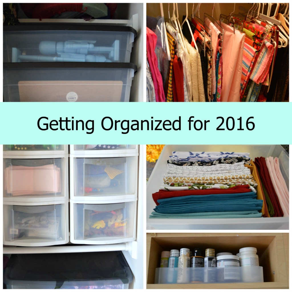 Getting Organized Collage