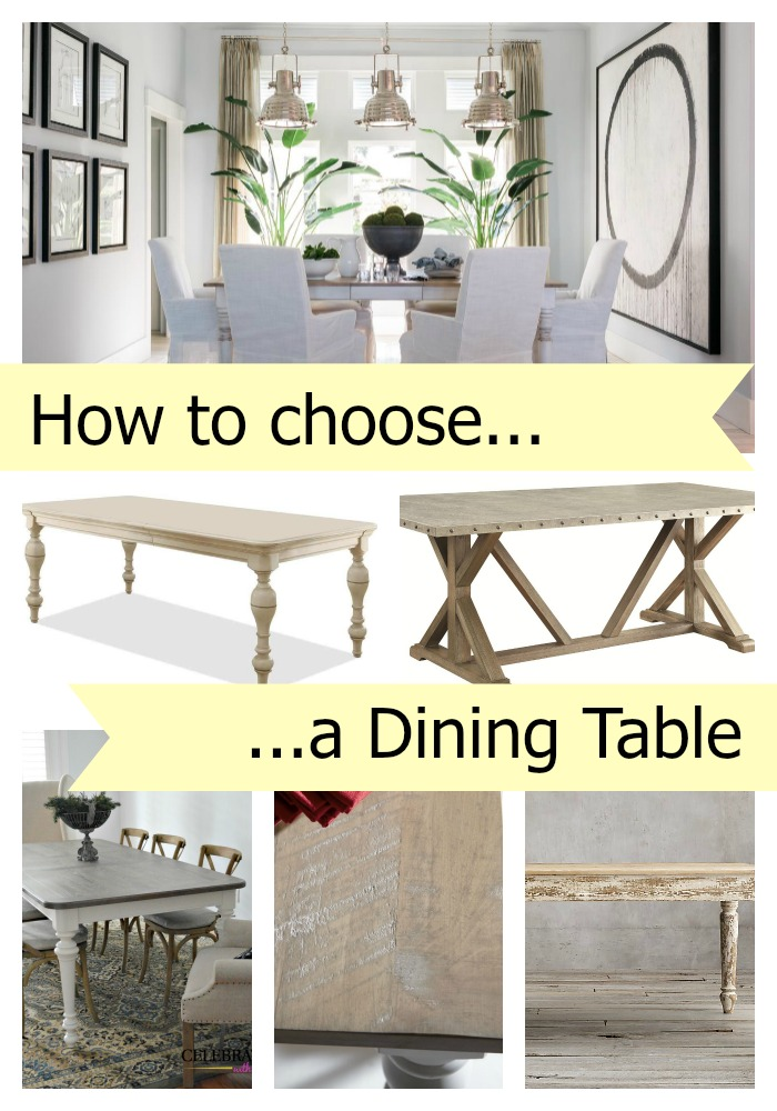 How to Choose a Dining Table Celebrate amp Decorate : How to choose a dining table from celebrateanddecorate.com size 700 x 1000 jpeg 164kB