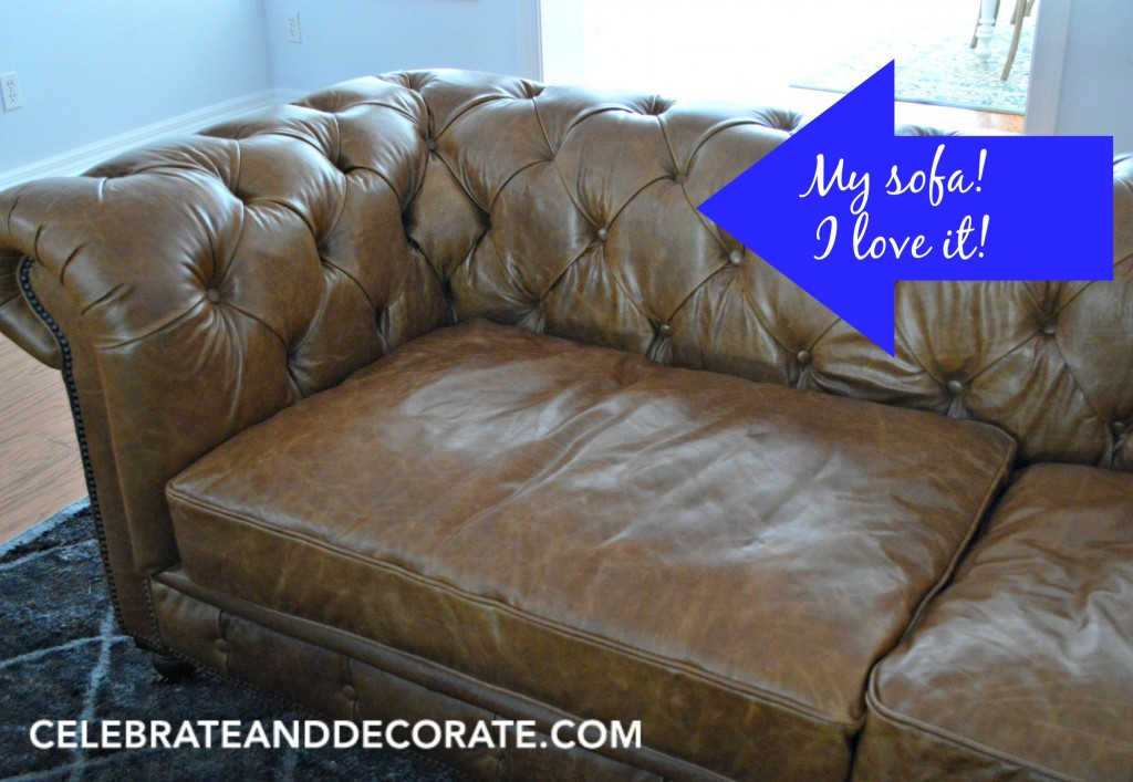 My Chesterfield Sofa