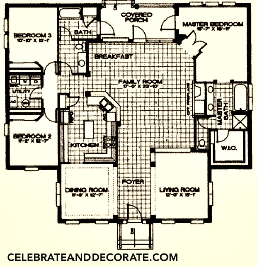 My Home Floor Plan The Kentlands by Town and Country