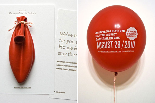 Balloon-Invitations