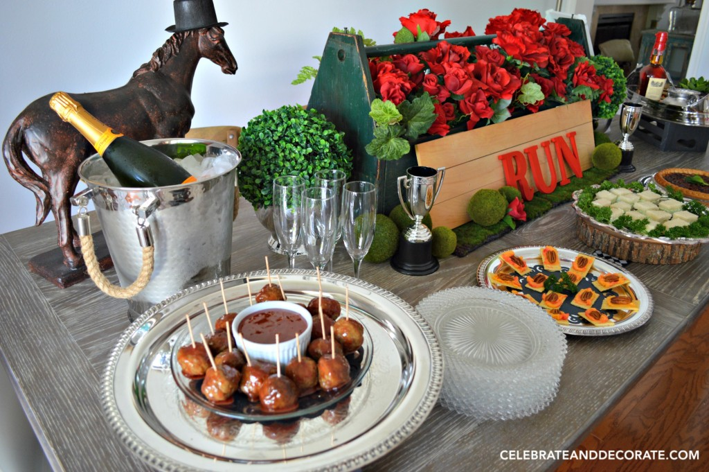 A Kentucky Derby Party Tablescape