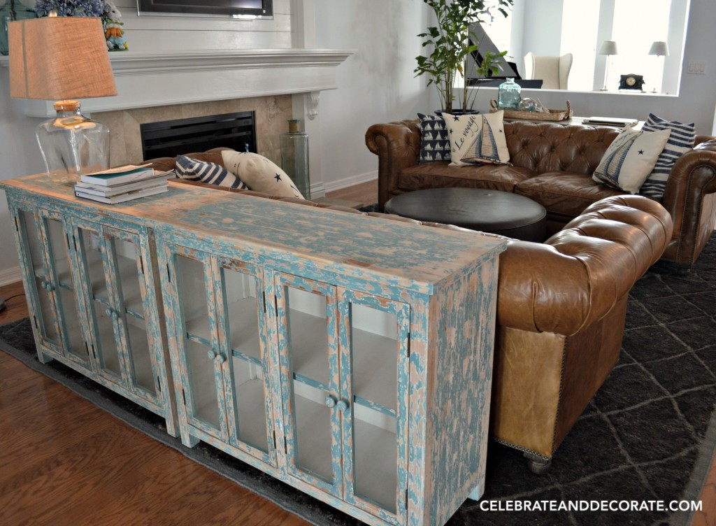 A potential console table