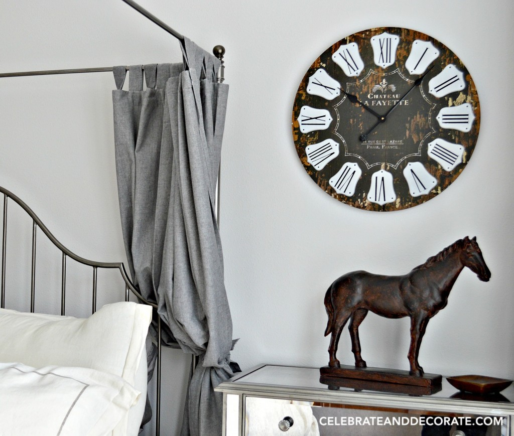 An Equestrian themed elegant bedroom