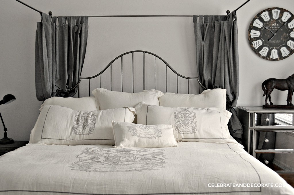 Equestrian themed guest room