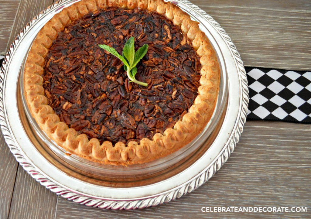 Pecan Pie is perfect for a Kentucky Derby Party
