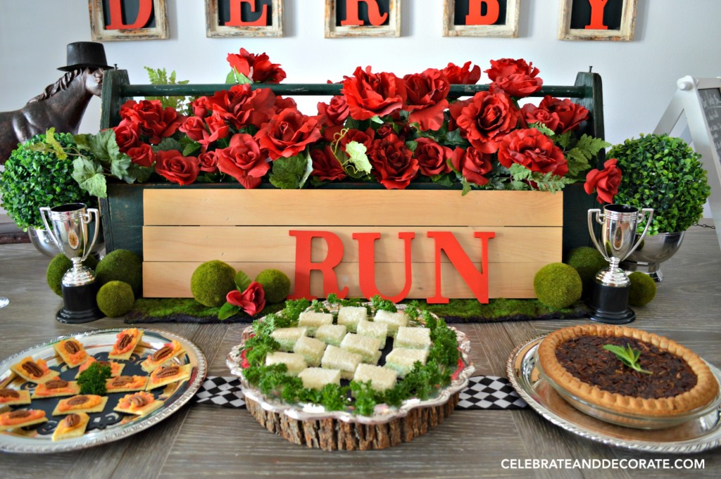 Run for the Roses Tablescape