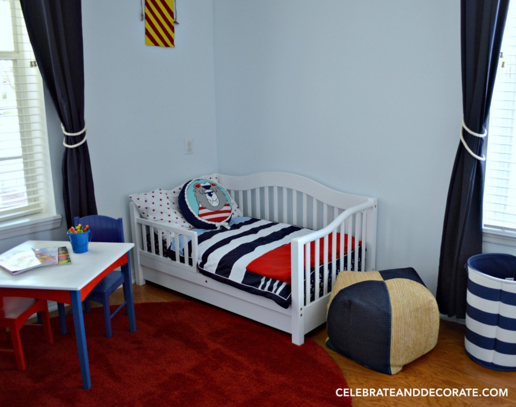 A Nautical Nursery for Two Young Sisters