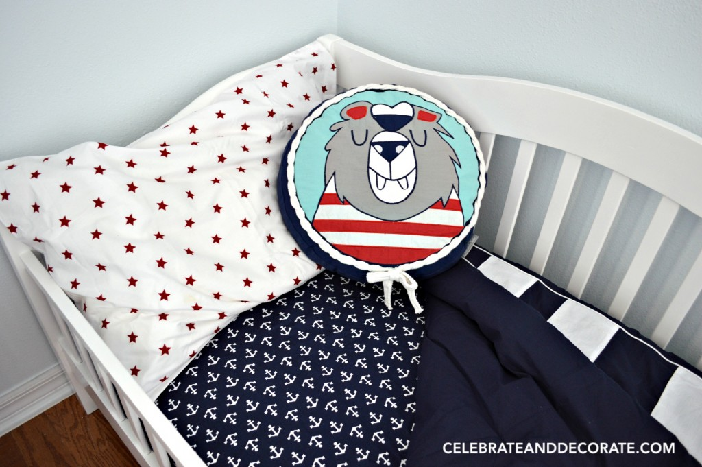 Nautical Nursery Bed linen ideas