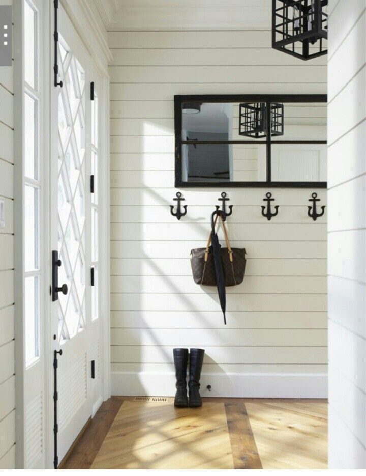 Small Foyer Wall Decor : Decorating with shiplap celebrate decorate