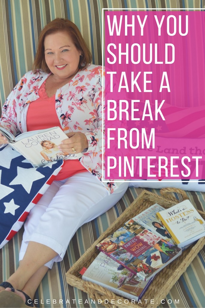 Why You Should Take a Break from Pinterest