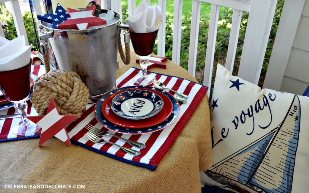 Ahoy! A Nautical Tablescape