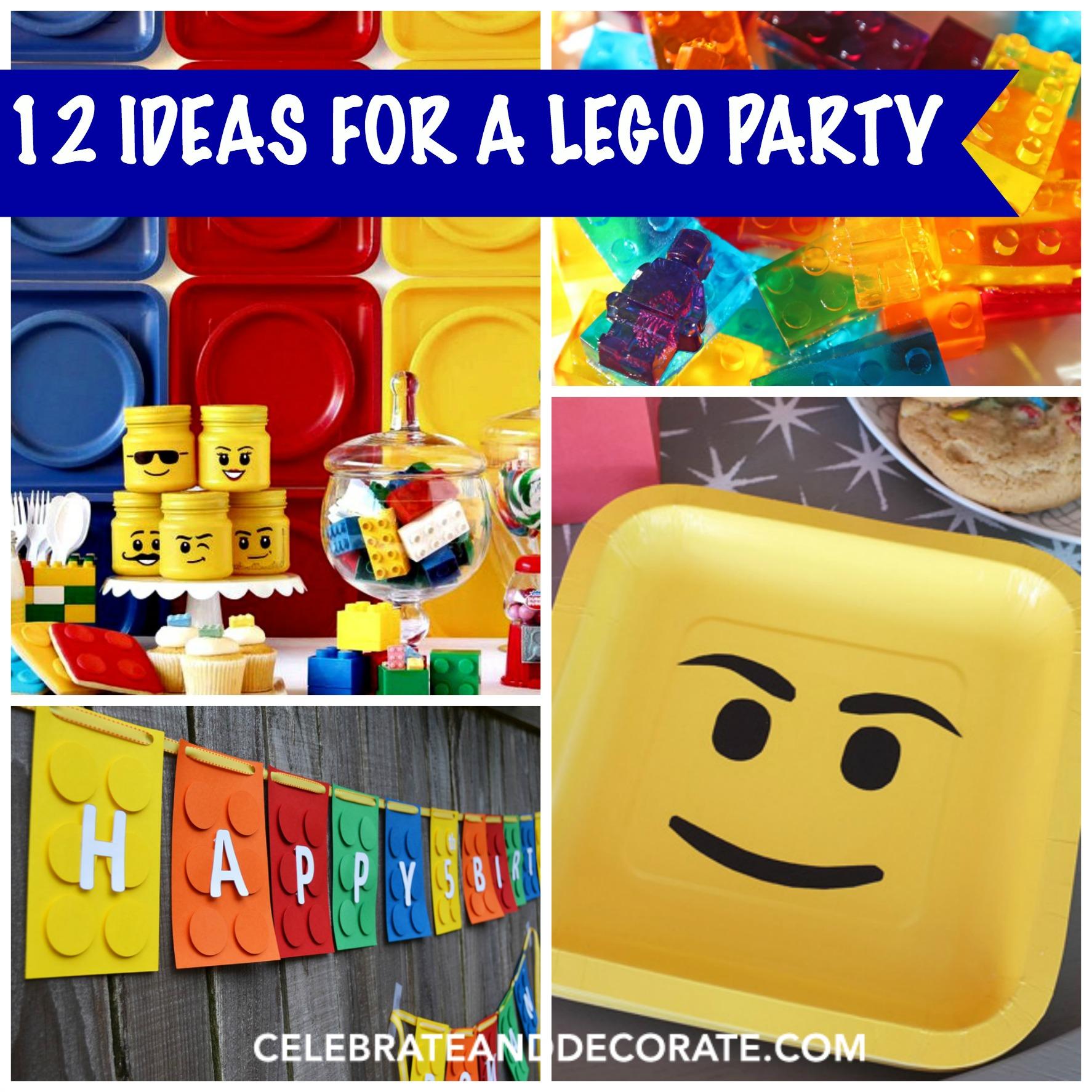 Lego Themed Birthday Cake Ideas
