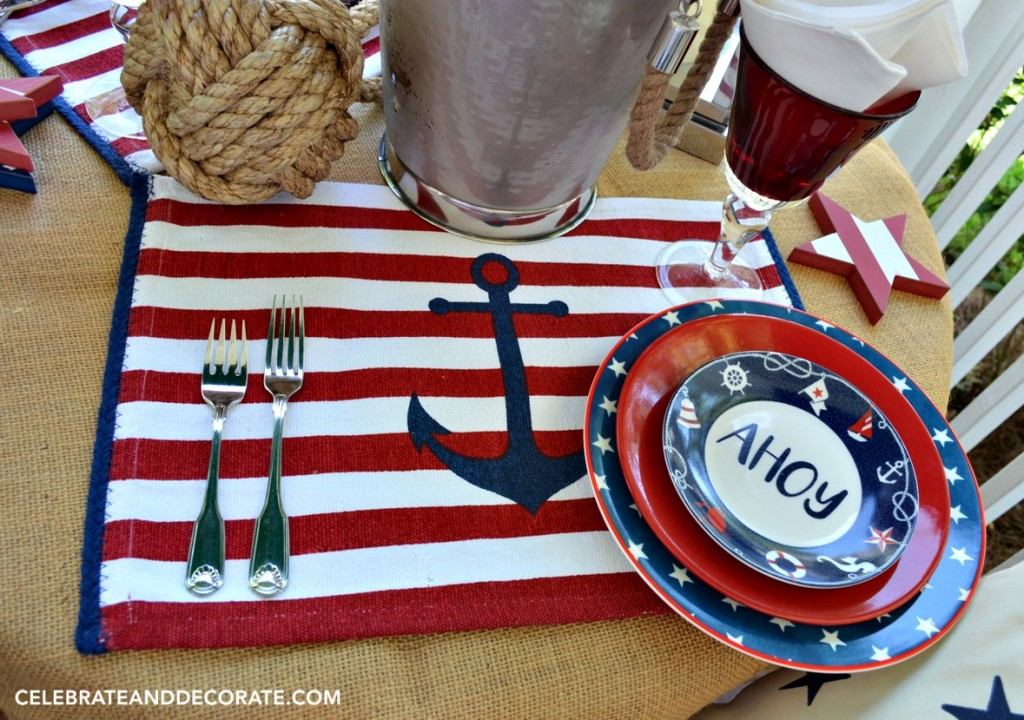 Nautical table for two