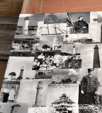 Old Florida Lighthouse collage