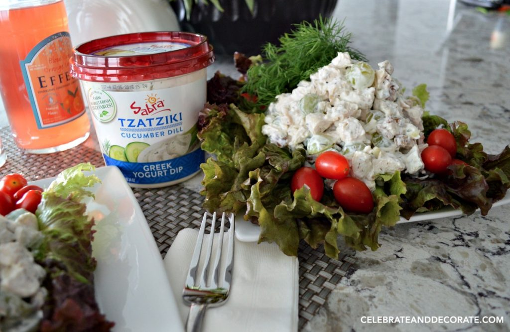 Sabra Tzatziki makes the best chicken salad ever!