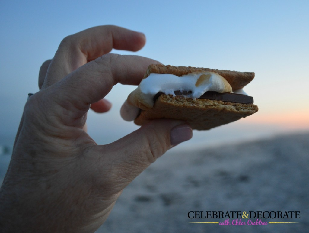 Smores-on-the-beach
